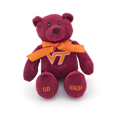 Virginia Tech Plush Bear: Maroon