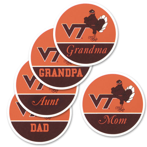 Virginia Tech Family Refrigerator Magnet