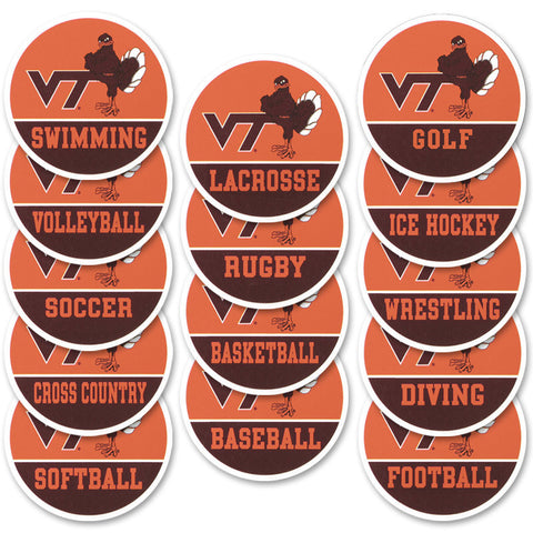 Virginia Tech Sports Refrigerator Magnet