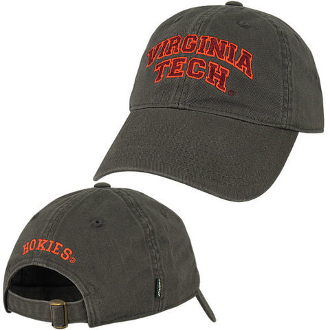 Virginia Tech Hat: Charcoal by Legacy