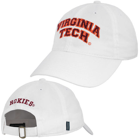 Virginia Tech Hat: White by Legacy