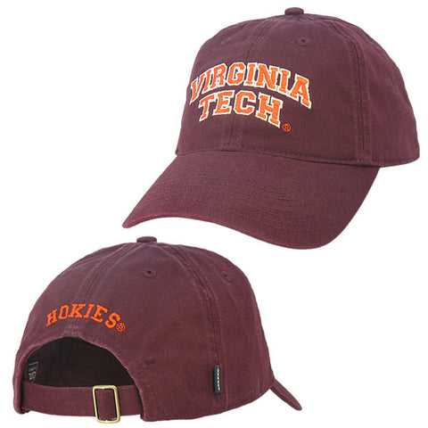 Virginia Tech Hat: Maroon by Legacy