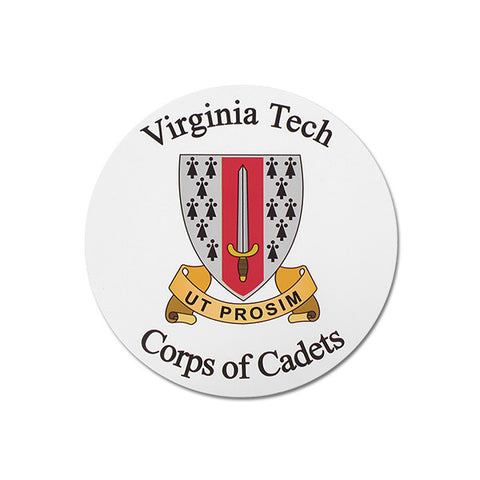 Virginia Tech Corps of Cadets Magnet: 3""