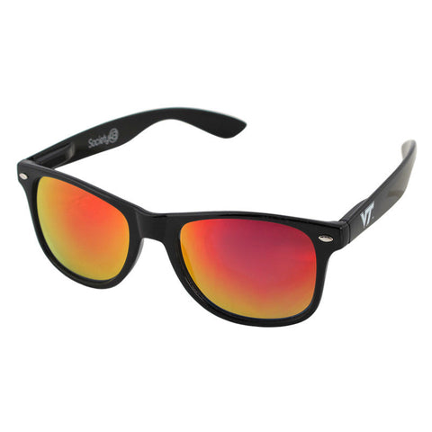 Virginia Tech Sunglasses: Black