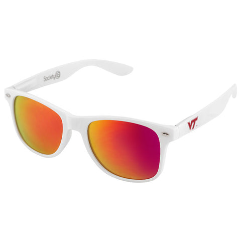 Virginia Tech Sunglasses: White