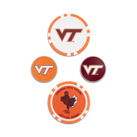 Virginia Tech Golf Ball Marker Set