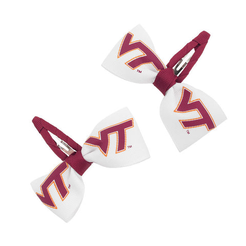 Virginia Tech Hair Clippies