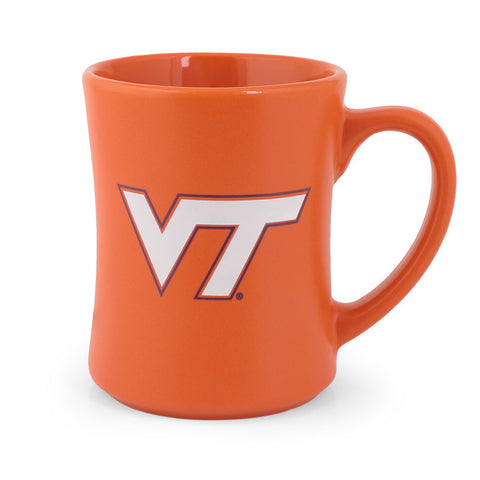 Virginia Tech Matte Wordmark Mug: Orange