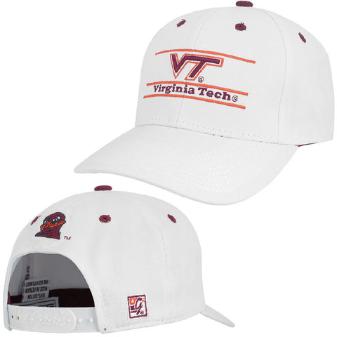 Virginia Tech Logo Bar Design Hat by The Game