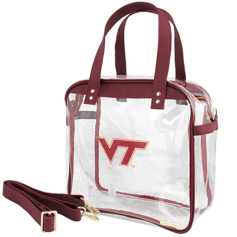 Virginia Tech Clear Carryall Tote Bag