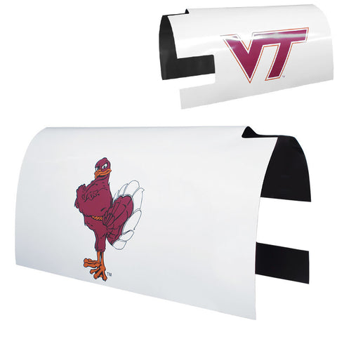 Virginia Tech Mailbox Cover: White