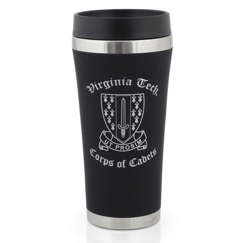 Virginia Tech Corps of Cadets Travel Tumbler