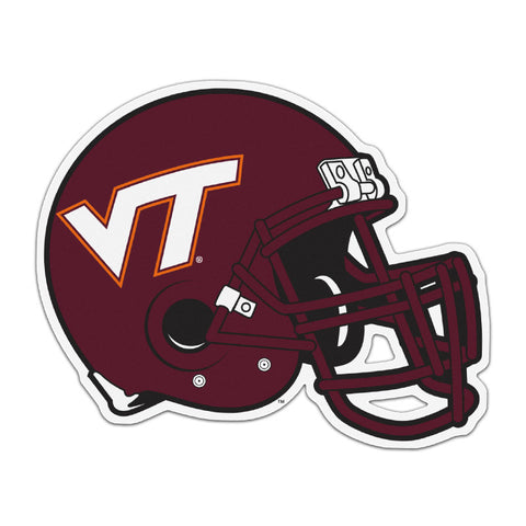 Virginia Tech Helmet Car Magnet