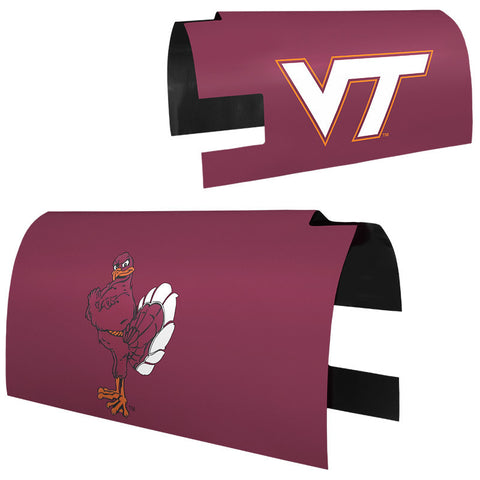 Virginia Tech Mailbox Cover: Maroon
