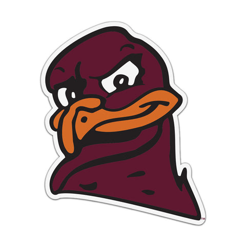 Virginia Tech Hokie Bird Head Magnet