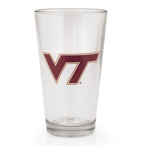 Virginia Tech Ale Glass