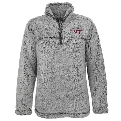 Virginia Tech Women's Sherpa Quarter-Zip Pullover
