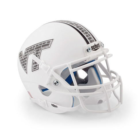 Virginia Tech Hokie Stone Mini Replica Helmet: White by Schutt