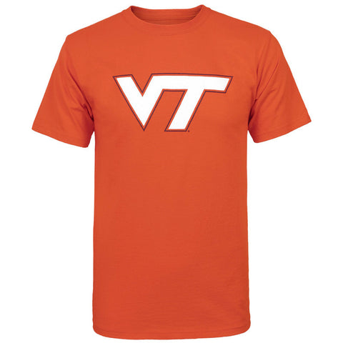 Virginia Tech Logo T-Shirt: Orange by Champion