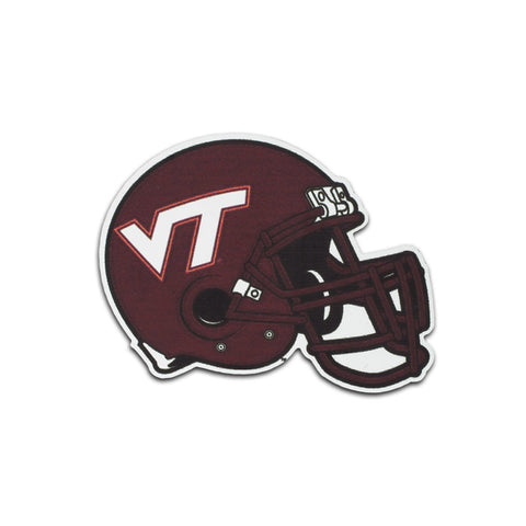 Virginia Tech Helmet Refrigerator Magnet