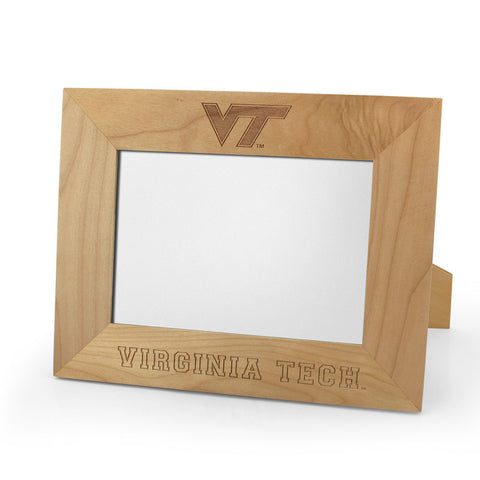 Virginia Tech Logo 5x7 Horizontal Wooden Picture Frame