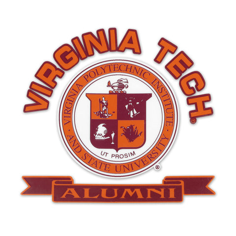 Virginia Tech Alumni University Seal Decal