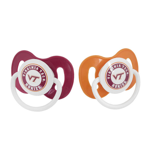 Virginia Tech Hokies Pacifier: Pack of 2
