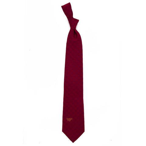 Virginia Tech New Logo Tonal Check Tie