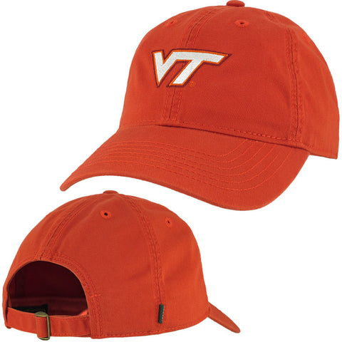 Virginia Tech Logo Hat: Orange by Legacy