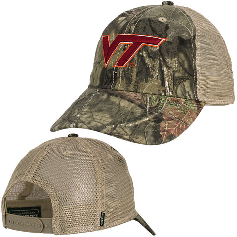 Virginia Tech Mossy Oak Break-Up Country Camo Trucker Hat by Legacy