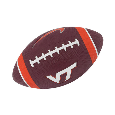 Virginia Tech Mini Rubber Football by Nike