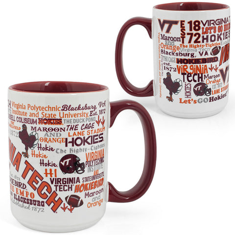 Virginia Tech Campus Wrap Mug