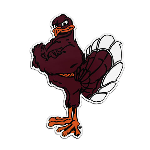 Virginia Tech Hokie Bird Magnet: 6""