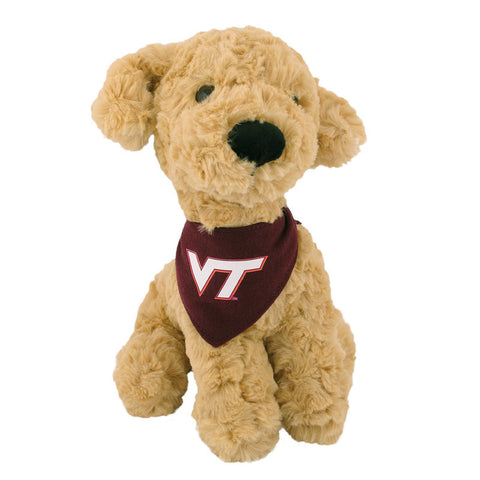 Virginia Tech Mighty Tyke Plush Golden Retriever