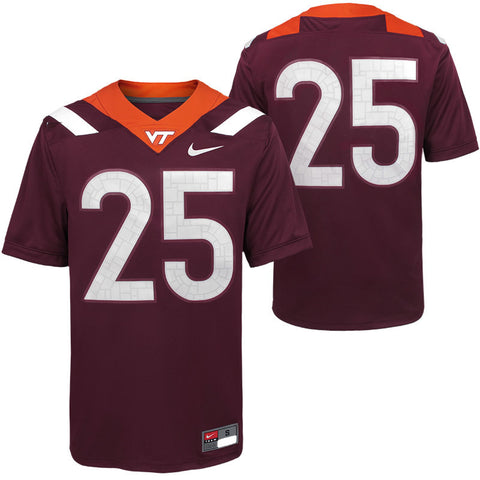 Virginia Tech #25 Replica Football Jersey by Nike