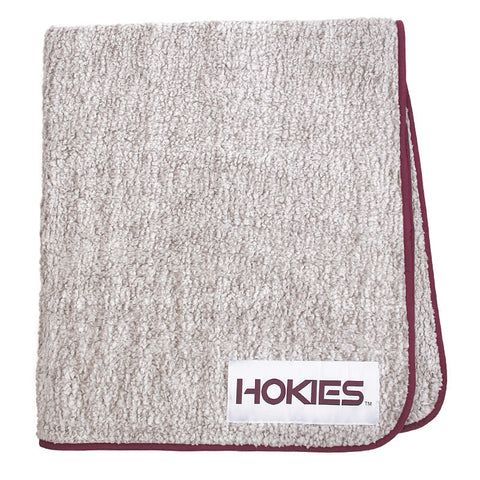 Virginia Tech Frosty Fleece Blanket