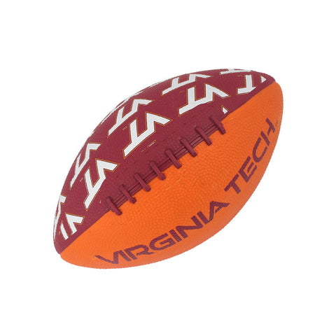 Virginia Tech Mini Rubber Football
