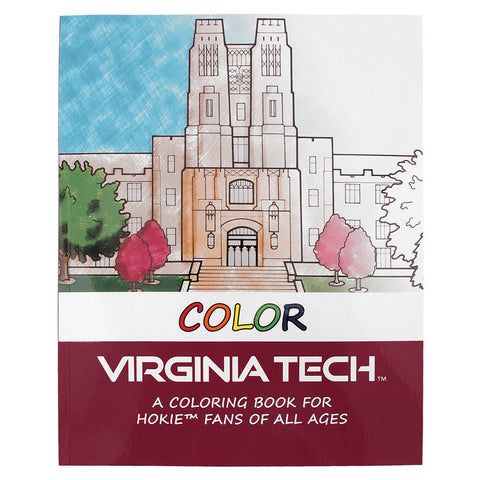Virginia Tech Coloring Book
