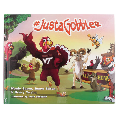 "Virginia Tech ""#JustaGobbler"" Children's Book"