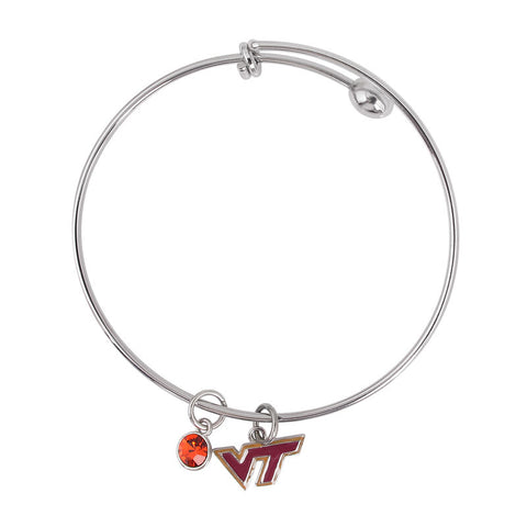 Virginia Tech Dangle Bracelet