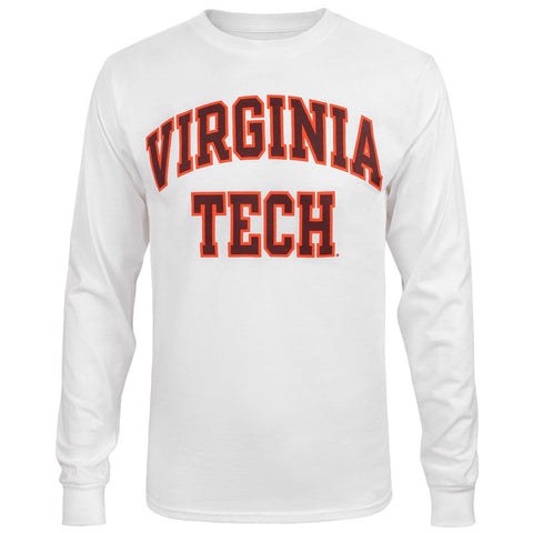 Virginia Tech Long-Sleeved T-Shirt: White by Champion