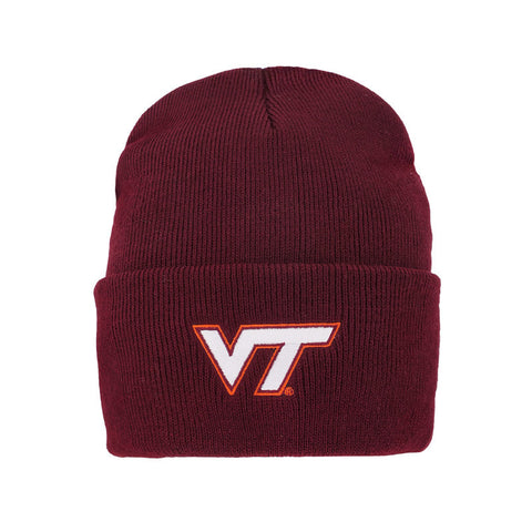 Virginia Tech Youth North Pole Cuffed Knit Beanie