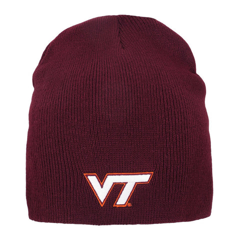 Virginia Tech Everest Knit Beanie: Maroon