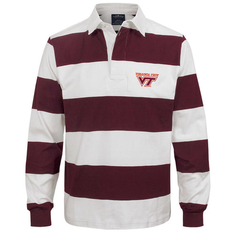 Virginia Tech Classic Rugby Shirt by Charles River