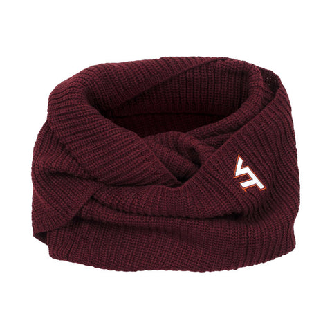 Virginia Tech Piper Knit Infinity Scarf