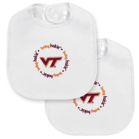 Virginia Tech Baby Bib: Pack of 2