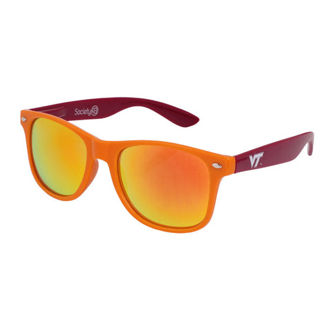 Virginia Tech Sunglasses: Orange Frame and Maroon Temples