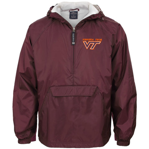 Virginia Tech Classic Pullover Jacket by Charles River