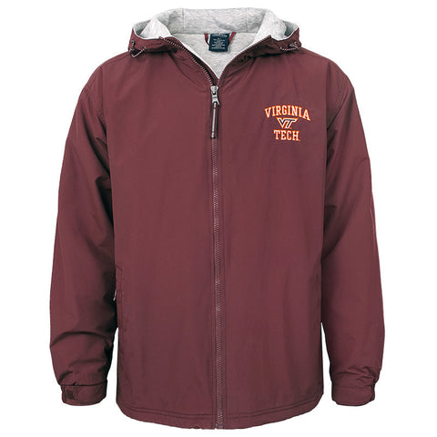 Virginia Tech Fleece-Lined Enterprise Jacket by Charles River