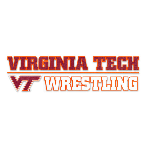 Virginia Tech Sports Decal: Wrestling